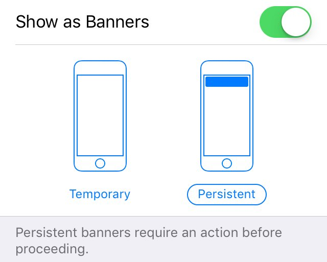 How To Make Your Notifications Preview Stay Permanently Until Swiped on iOS 11