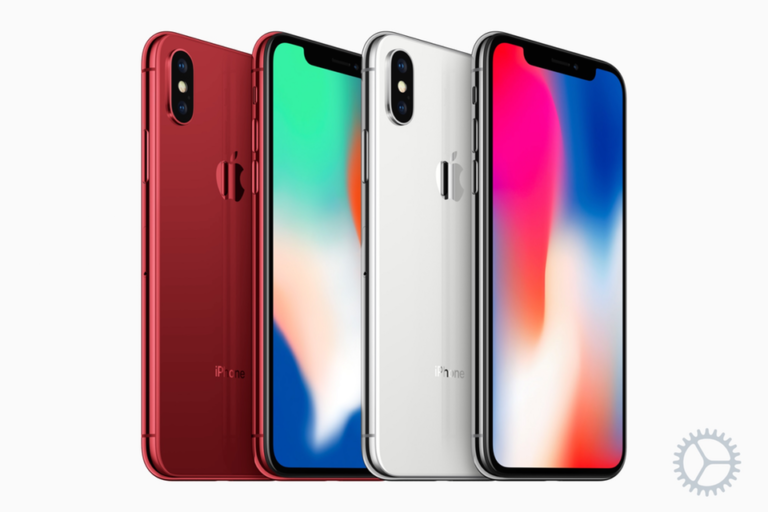 Concept shows new (PRODUCT)RED iPhone X and iPhone 8