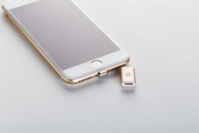 MagBolt, A Magnetic Charging Cable For iPhone