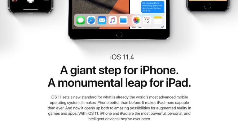Apple releases iOS 11.4 for iPhone & iPad