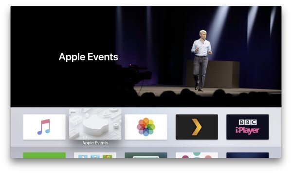 Apple Updated Its Events tvOS App Ahead Of WWDC Keynote On June 4th