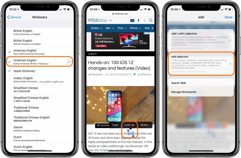 iOS 12 – How to enable the new thesaurus on your iPhone & iPad