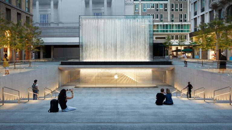 Apple Piazza Liberty opens Thursday in Milan, Italy