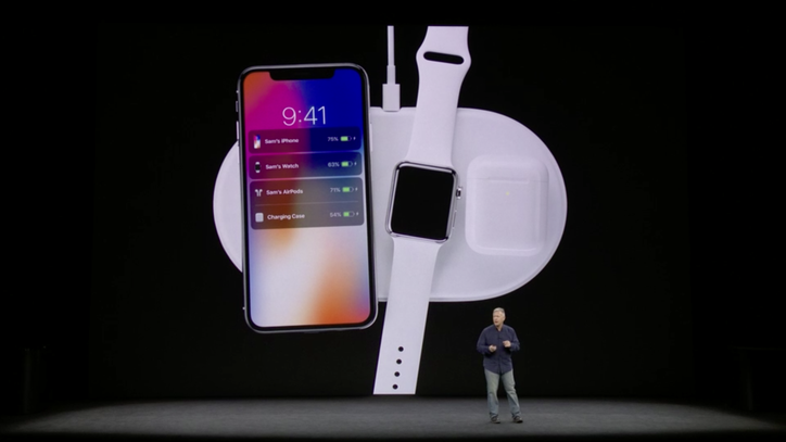 "AirPower currently marked as ""unavailable"" for optional charging case"