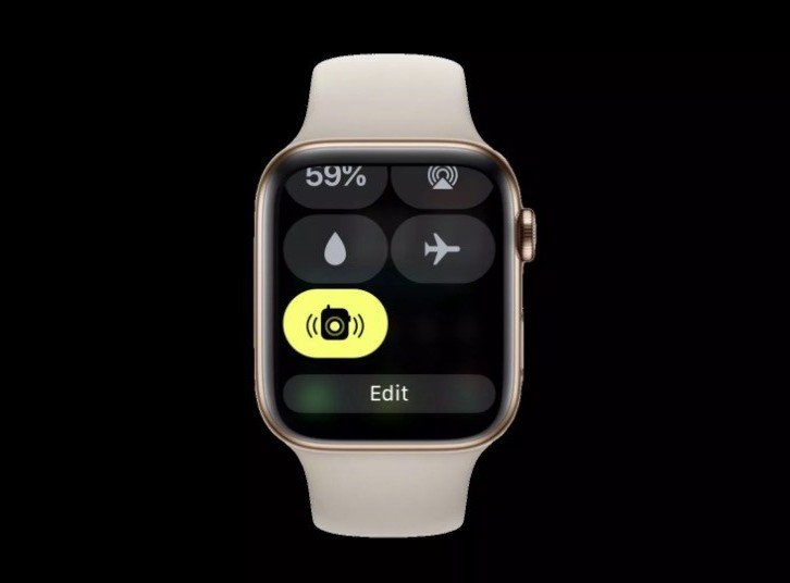 watchOS 5.1.2 adds the ability to activate Walkie-Talkie in Control Center