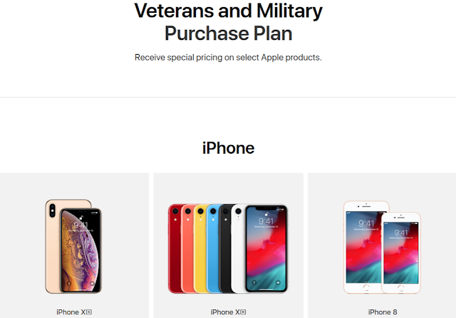Apple Launched Online Store For Vets And Military With 10% Discount