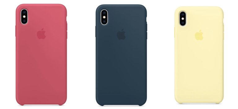 Apple releases new cases for iPhone XS  in the Apple Store