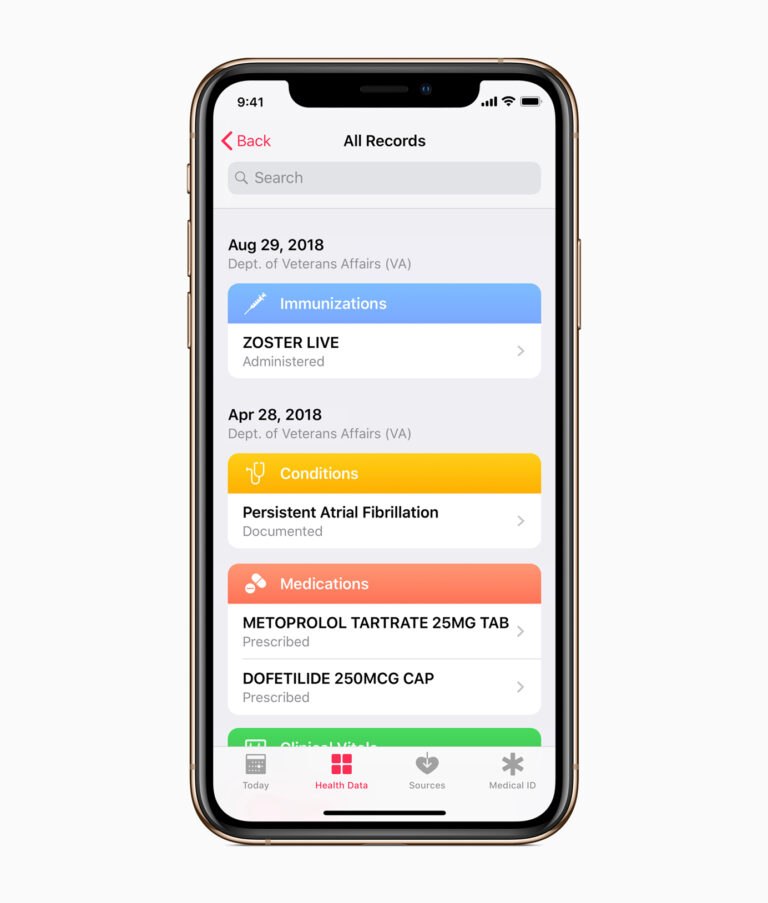 Apple announces Health Records feature coming to veterans in the US very soon