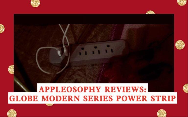 Review: Globe Designer Series Power Strip (2 USB)