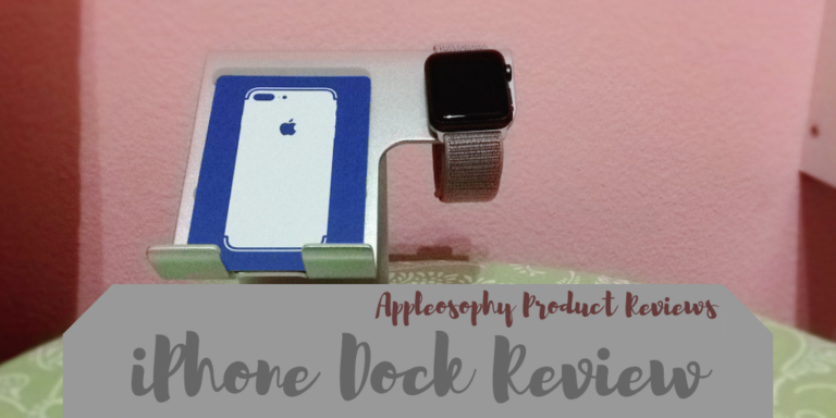 Review: LAMEEKU iPhone and Apple Watch dock