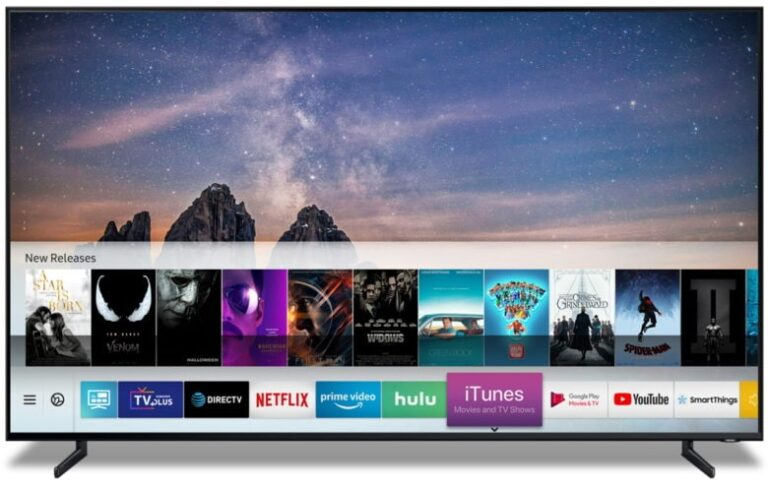 Samsung TVs with Apple's iTunes and AirPlay 2 Now Available