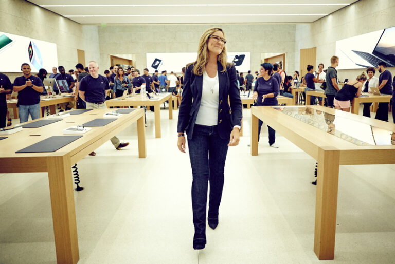 Angela Ahrendts leaving Apple, Deirdre O'Brien named senior vice president of Retail + People
