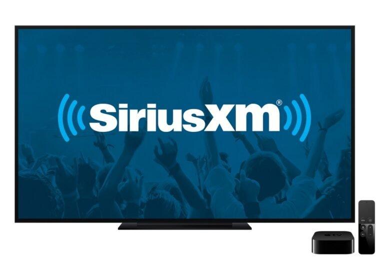 SiriusXM Updates Apple TV App
