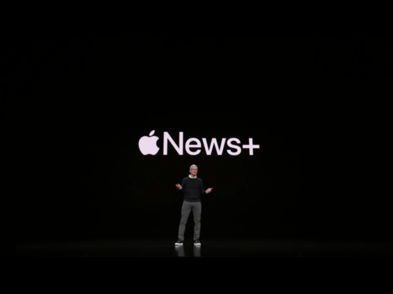 Apple Announces Apple News+