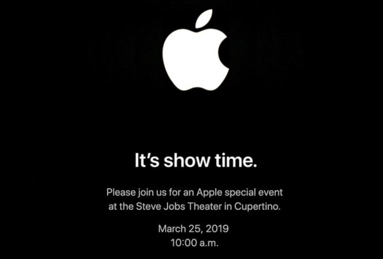 Apple Announces March 2019 Event