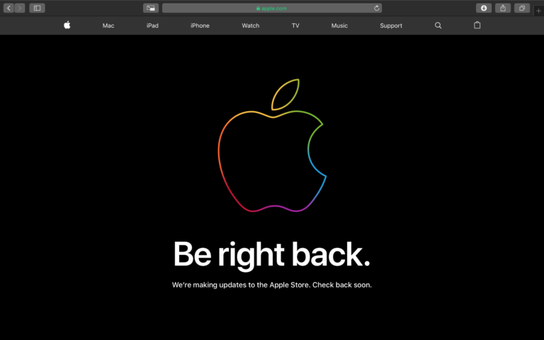 Apple Store down ahead of potential new hardware releasing at the March Special Event (UPDATE)