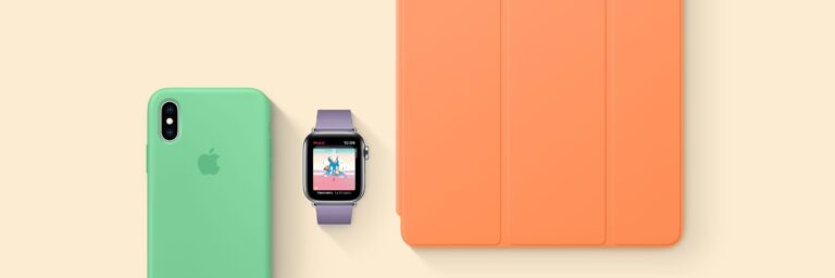 New Spring colors for Apple Cases and Watch Bands are now available