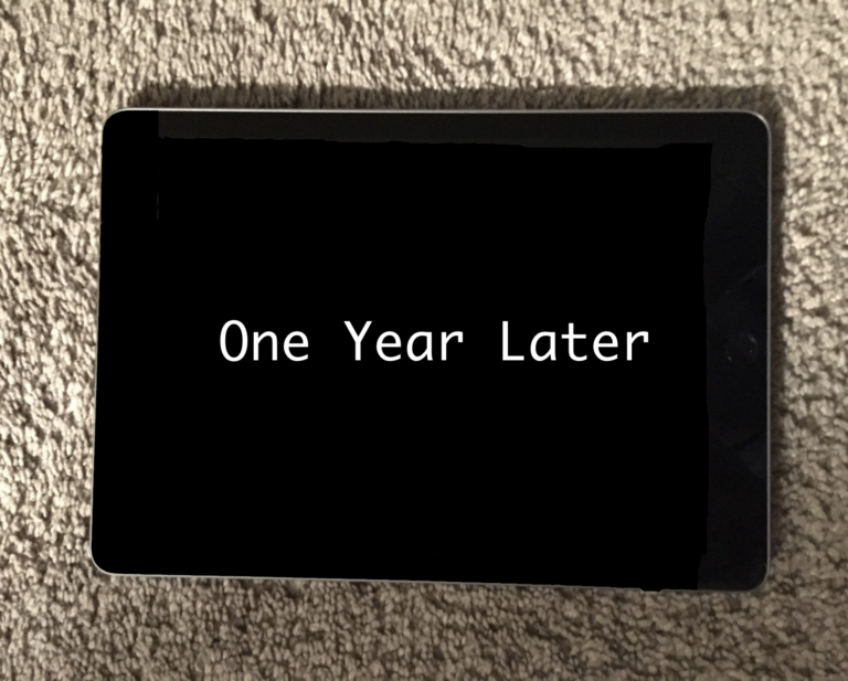 Editorial: One Year Later with my iPad Fifth Generation