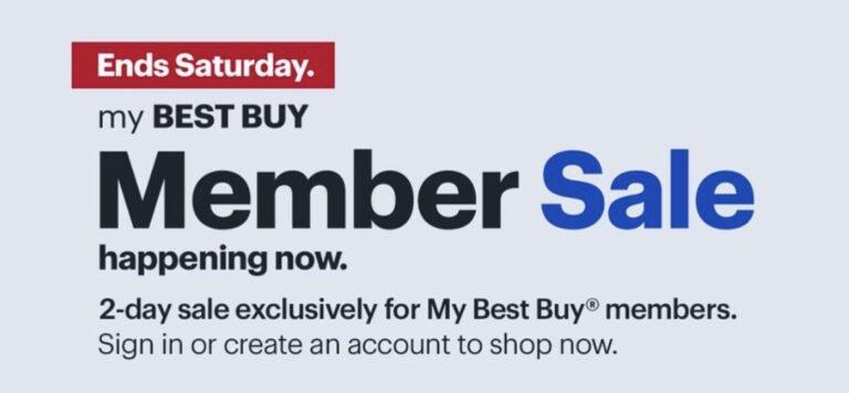 Apple Deals in My Best Buy Rewards Sale (Ends Saturday)