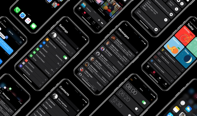 EXCLUSIVE: Questionable Image Shows Dark Mode in iOS 13