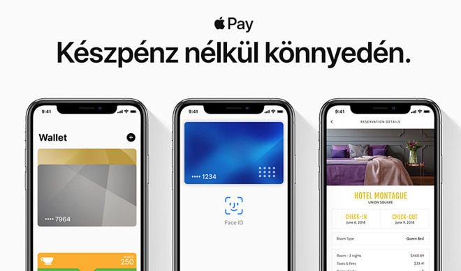 Apple Pay available to users in Hungary and Luxembourg