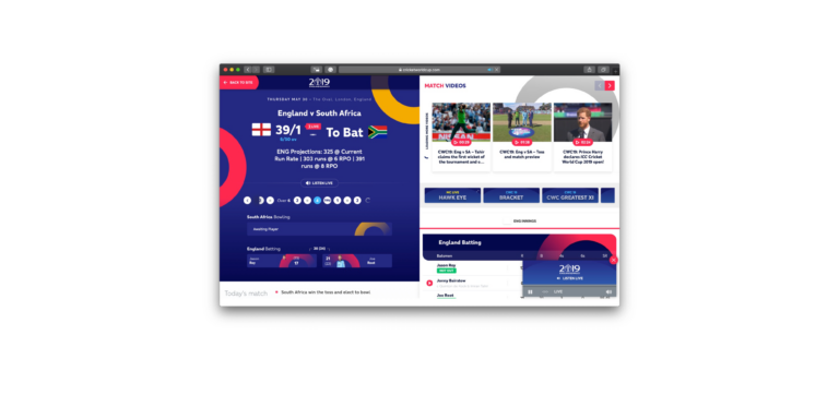 How To Check Live Scores for the ICC Cricket World Cup
