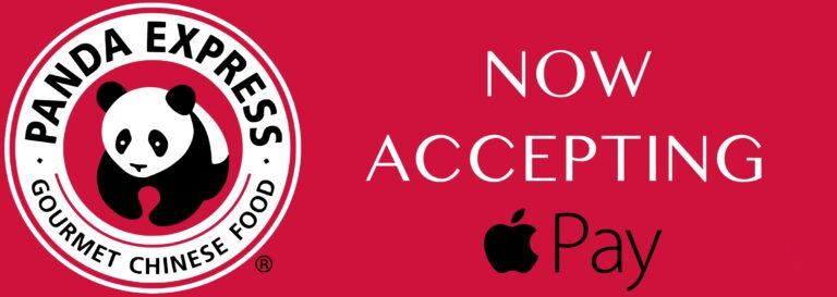 Panda Express Now Accepts Apple Pay