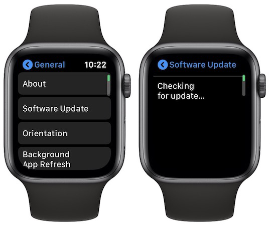 watchOS 6 brings direct OTA update to the Apple Watch