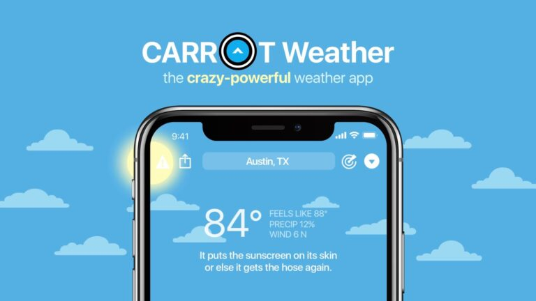 Opinion: What Apple's Dark Sky app acquisition means for CARROT Weather