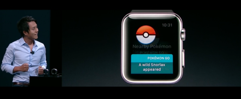"""Pokemon Go"" drops support for Apple Watch"