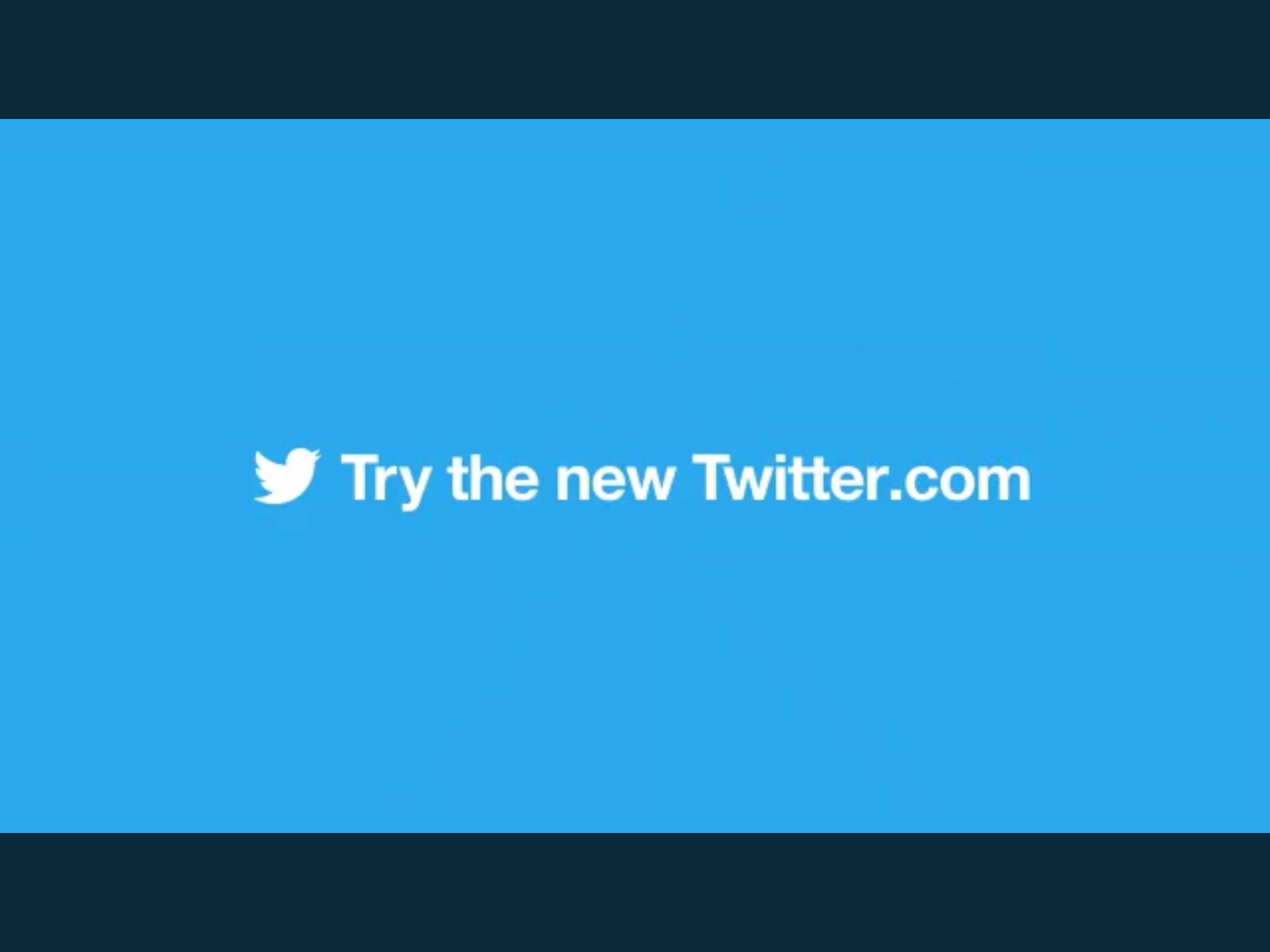 New Updated Web Design Rolled Out by Twitter