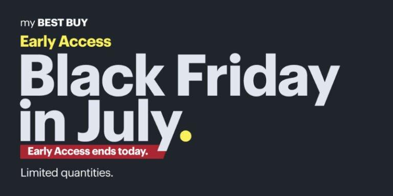 Apple Deals in Best Buy's Black Friday in July Sale