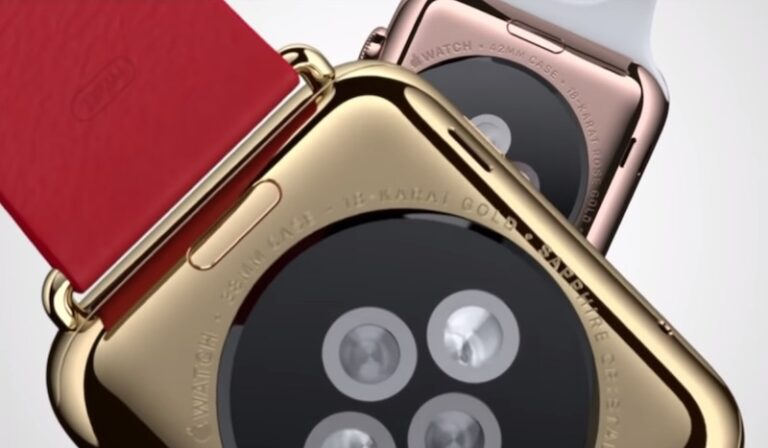 Sales of 18-Karat Gold Apple Watch dropped after just two weeks