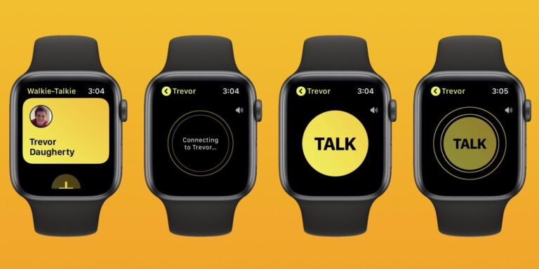 Apple disables Walkie Talkie feature on Apple Watch due to major bug