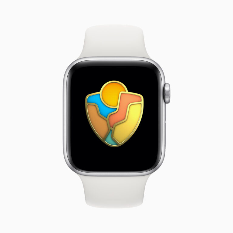 Apple Watch Getting Activity Award on August 25