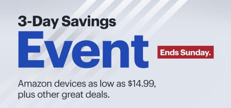 Apple Deals in Best Buy's 3-Day Sale