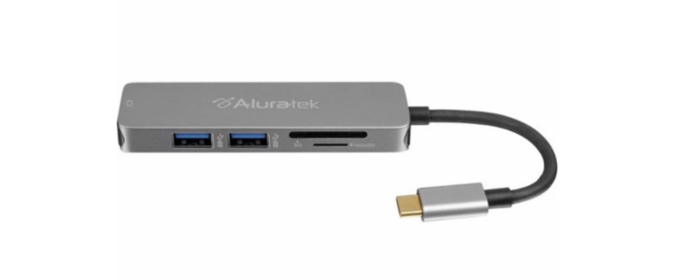 (EXPIRED) Best Buy Deal of the Day: Save $10 on the Aluratek USB-C Hub Adapter