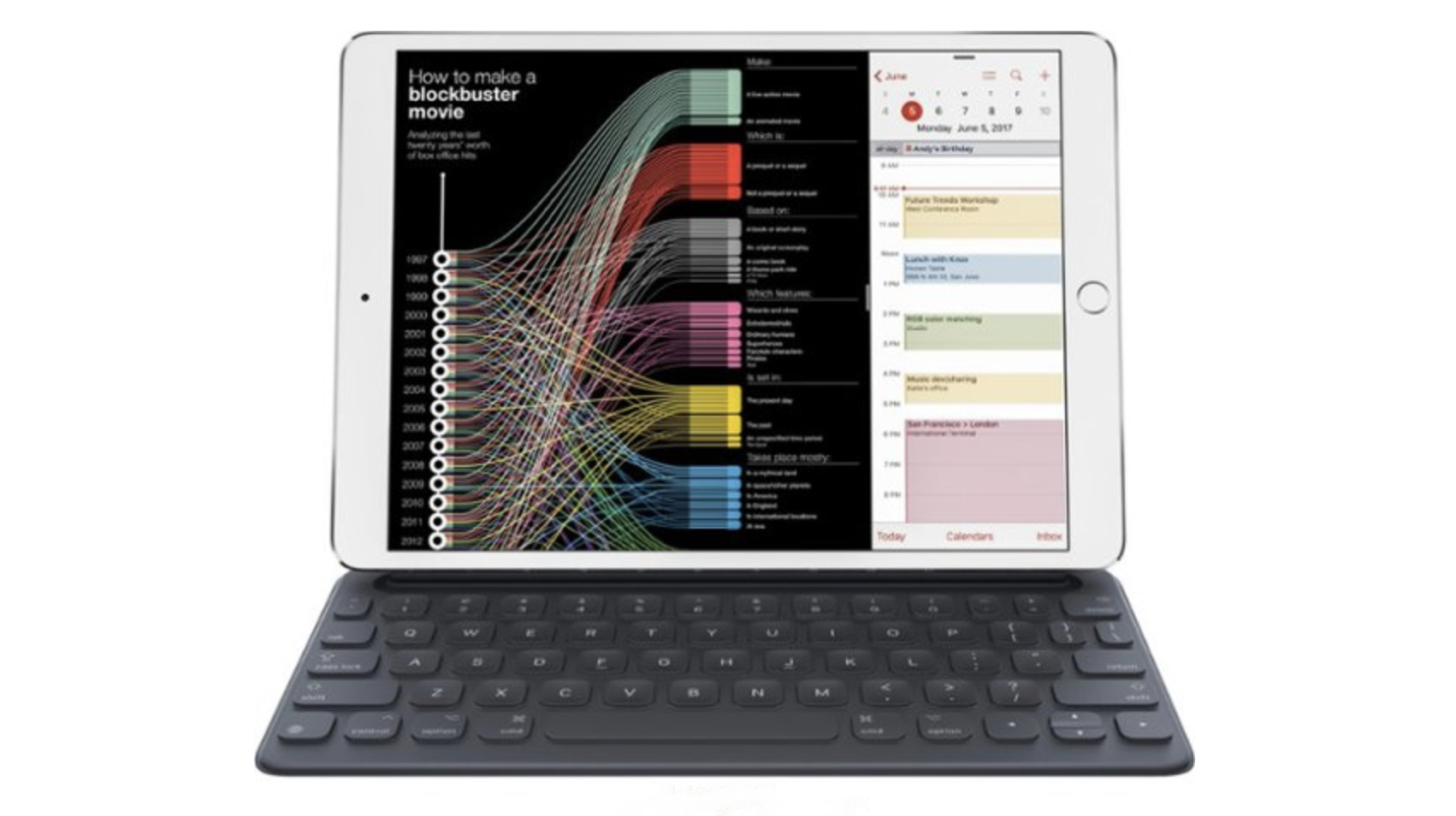 (EXPIRED) Best Buy Deal of the Day: Save $60 on the Apple Smart Keyboard for the 10.5-inch iPad Pro and iPad Air