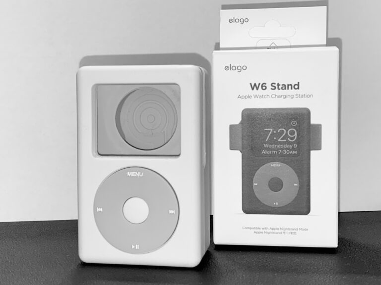 Review: W6 Charging Stand for Apple Watch by Elago