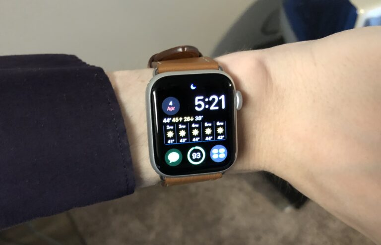 One week with the Apple Watch Series 5