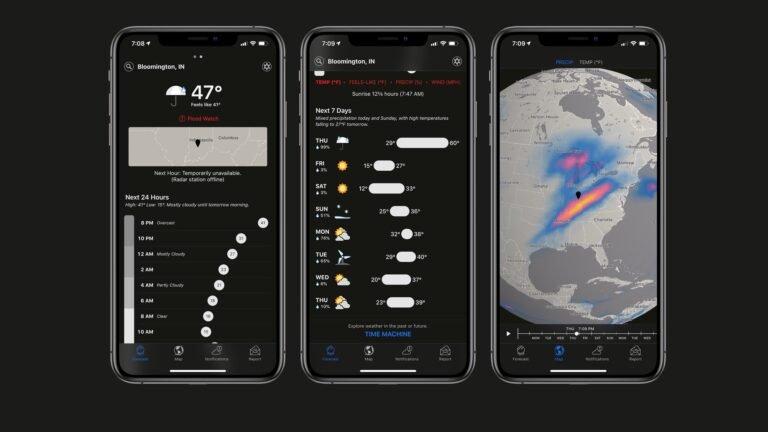 Dark Sky's Android App shutdown delayed until August 1