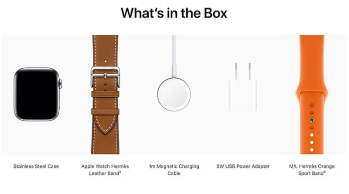 Apple Quietly Removes Power Adapter From Apple Watch Edition and Apple Watch Hermès