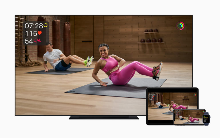 Apple Introduces Apple Fitness+, A new personalized training experience.