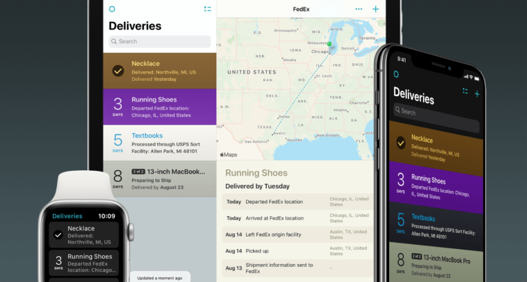 Deliveries app pivots; adds subscription model and Dark Mode