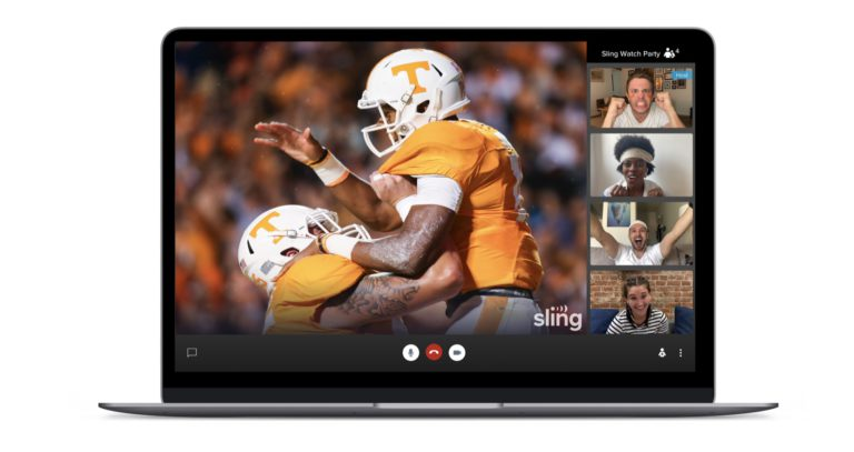 How to set up a Sling TV Watch Party