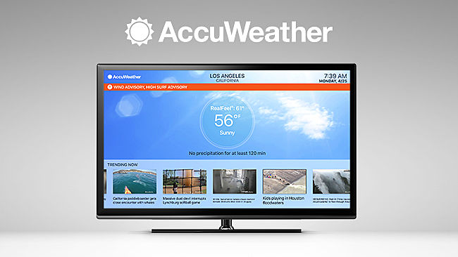 AccuWeather TV Network comes to the fuboTV lineup