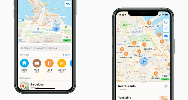 Redesigned Apple Maps rolling out in Canada