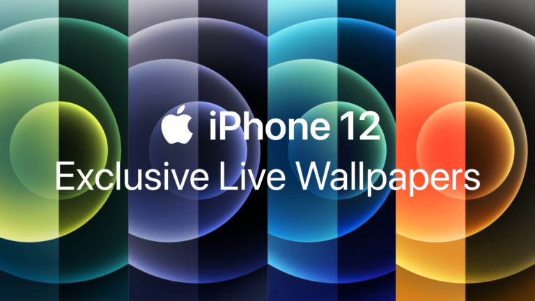 Exclusive iPhone 12 Live Wallpapers