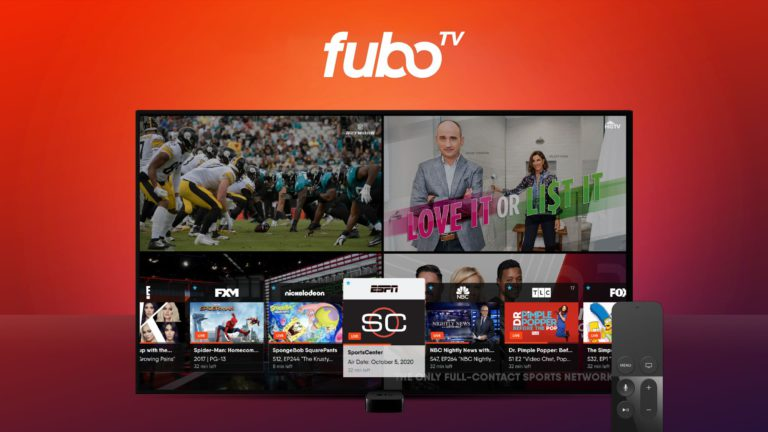 fuboTV brings Multiview to the Apple TV
