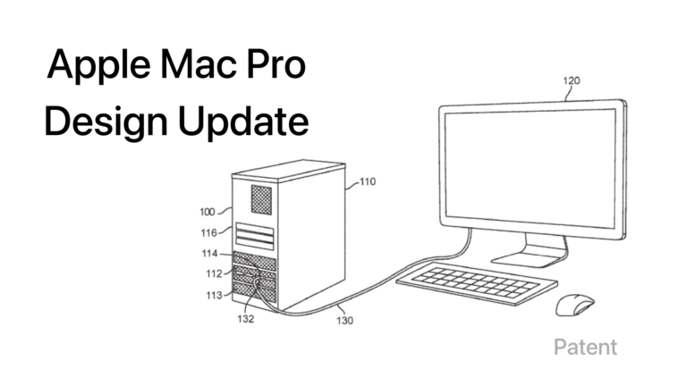 The Mac Pro could receive a design update according to a new patent